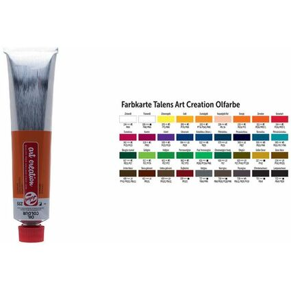 ROYAL TALENS Ölfarbe ArtCreation, 200 ml, umbra gebrannt