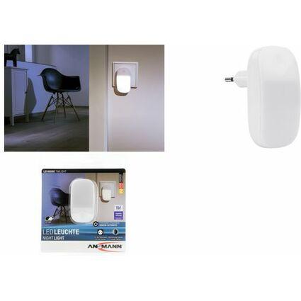 ANSMANN LED-Orientierungslicht TWILIGHT, weiß, mit Sensor