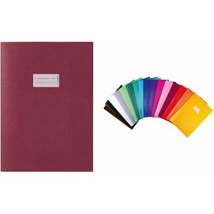 HERMA Heftschoner, aus Papier, DIN A5, dunkelblau