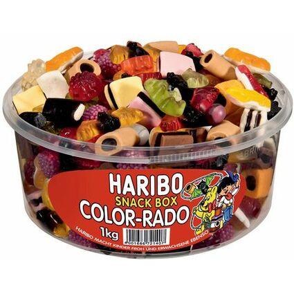 HARIBO Fruchtgummi COLOR-RADO, 1 kg Dose