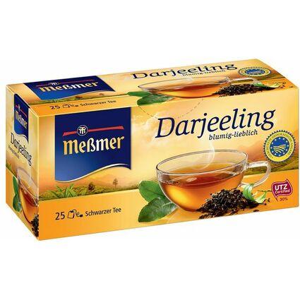 "Meßmer Schwarzer Tee ""Darjeeling"", 25er Packung"