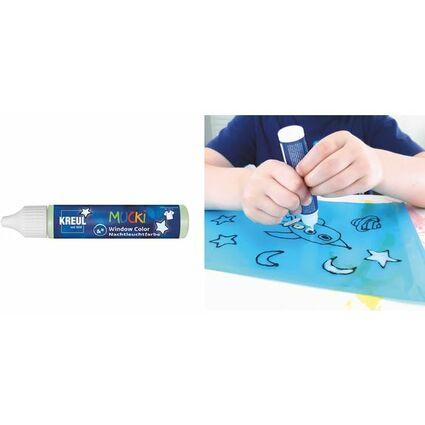 "KREUL Window Color Nachtleuchtfarbe Pen ""MUCKI"", 29 ml"
