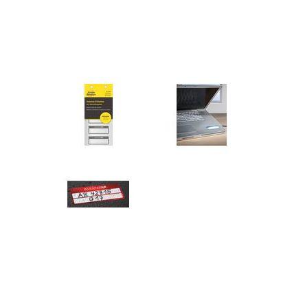 AVERY Zweckform Inventar-Etiketten, Polyester-Folie, schwarz