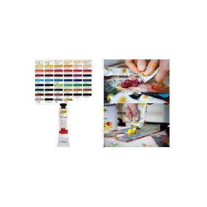 KREUL Feinste Künstler-Ölfarbe, siena gebrannt, 20 ml