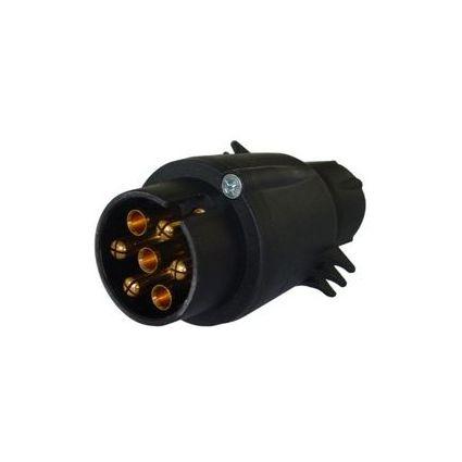 IWH KFZ-Stecker für Anhängerkupplung, 7-polig