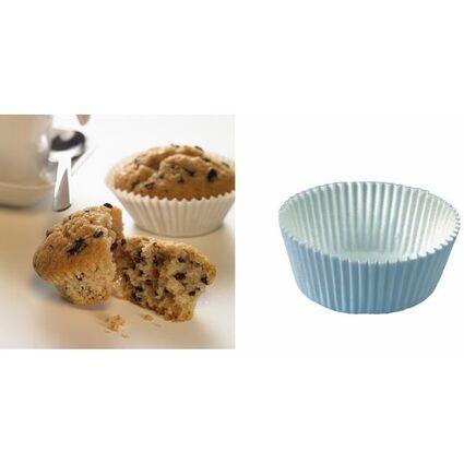 PAPSTAR Muffinförmchen, aus Papier, weiß