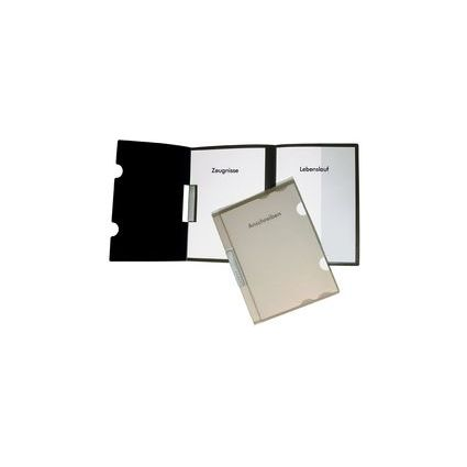 dataplus Bewerbungsmappe Clip L, DIN A4, natur-transparent