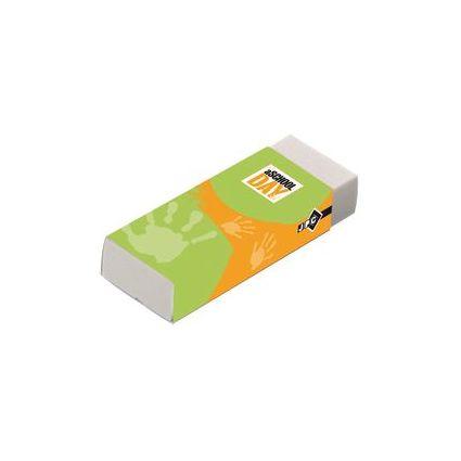 JPC Kunststoff-Radierer, (B)60 x (T)21 x (H)11 mm