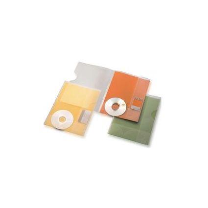 dataplus Angebotsmappe S-CD, DIN A4, natur-transparent