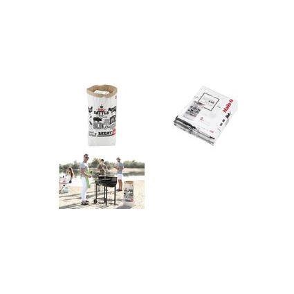 Hailo Einweg-Abfalltüte PaperBag BBQ, 80 Liter