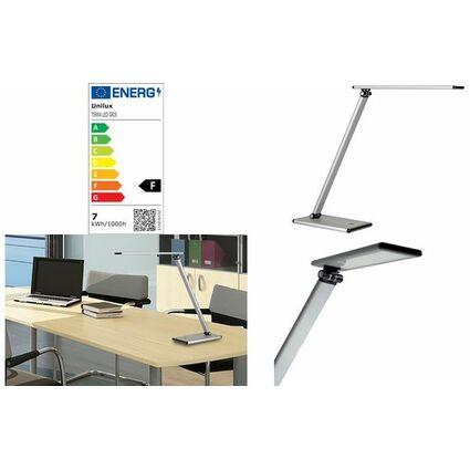 Unilux LED-Tischleuchte TERRA, Farbe: metallgrau