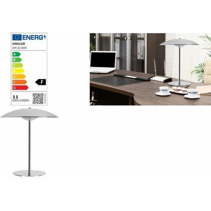 Unilux LED-Design-Tischleuchte, Farbe: chrom