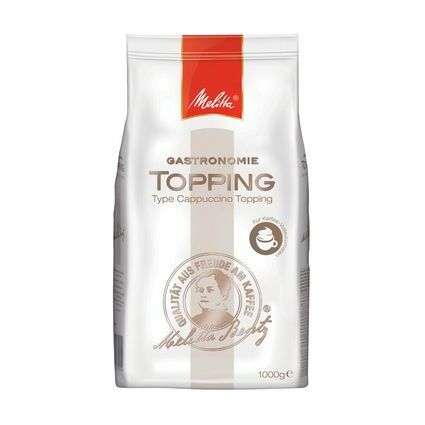 "Melitta Topping ""Gastronomie Topping Cappuccino"""