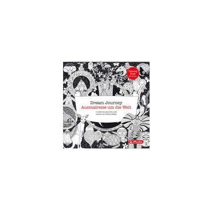 """herlitz Malbuch """"Ausmalreise um die Welt"""", 72 Seiten"""