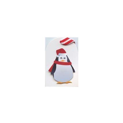 """SUSY CARD Anhängerkarten Weihnachten """"Pinguin"""""""