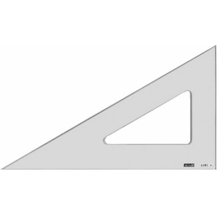 MINERVA Zeichendreieck, Hypotenuse: 500 mm, 60 Grad