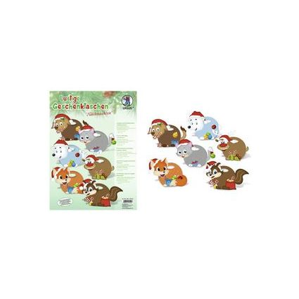 """URSUS Geschenktaschen-Set """"Weihnachten"""""""