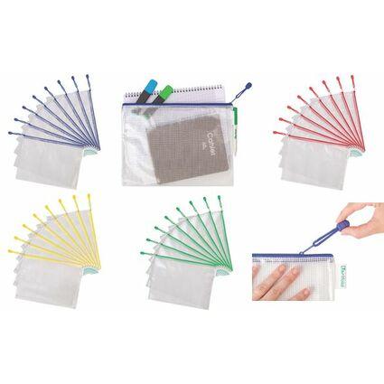 tarifold Reißverschlusstasche ZIPPER, DIN A4, PVC, grün