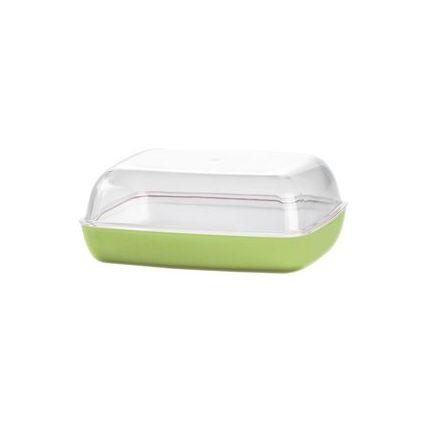 """emsa Butterdose """"VIENNA"""", Kunststoff, transparent/grün"""