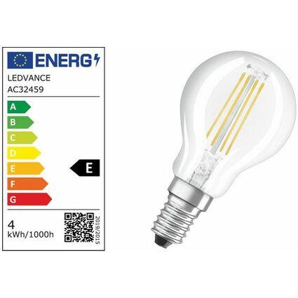 OSRAM LED-Lampe PARATHOM Retrofit CLASSIC P, 4,0 Watt, E14