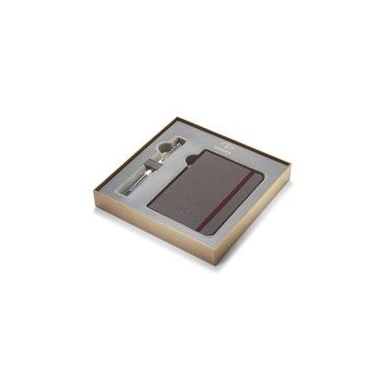 PARKER Schreibgeräte-Set URBAN PREMIUM Pearl Metal Chiselled