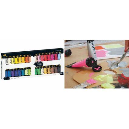 KREUL Acrylfarbe SOLO Goya Acrylic, 20 ml, 32er-Set