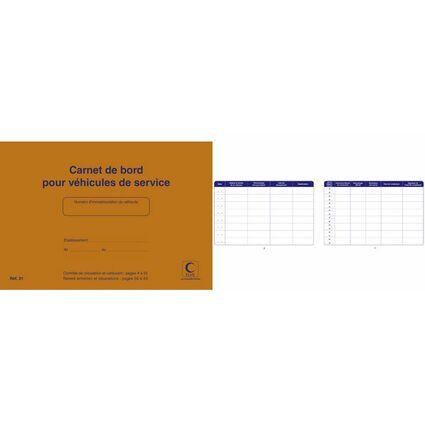 ELVE Carnet de bord pour véhicules de service, 150 x 215 mm
