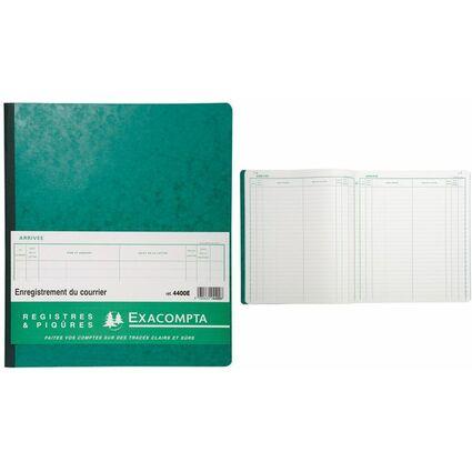 "EXACOMPTA Geschäftsbuch ""Enregisterment du courrier"""