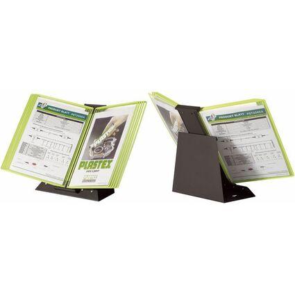tarifold Tischsichttafelsystem BLACK LINE, DIN A4