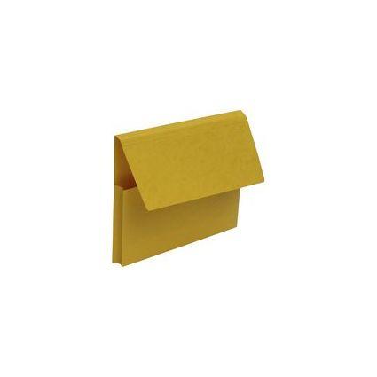 FAST Dokumententasche VIP, DIN A4, Karton, gelb