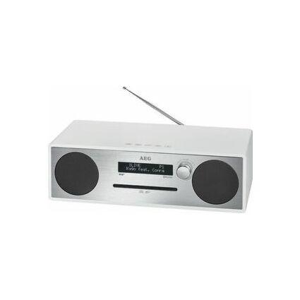 AEG Stereo Music-Center MC 4469, silber/weiß
