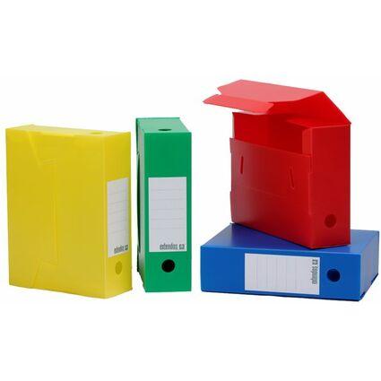 extendos Archivbox, PP, 100 mm, farbig sortiert