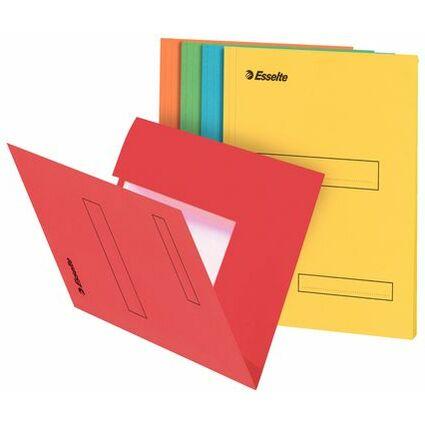 Esselte Aktenmappe, DIN A4, aus Karton, 160 g/qm, blau