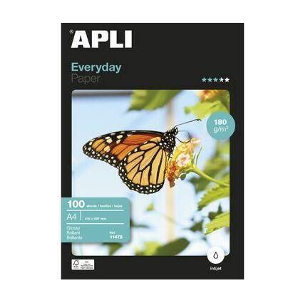 agipa Foto-Papier everyday, DIN A4, 180 g/qm, hochglänzend
