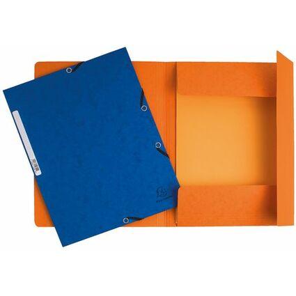 EXACOMPTA Sammelmappe, aus Karton, 355 g/qm, farbig sortiert