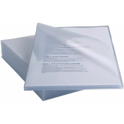 Rexel Sichthülle Anti-Slip, DIN A4, PP, glasklar, 0,15 mm
