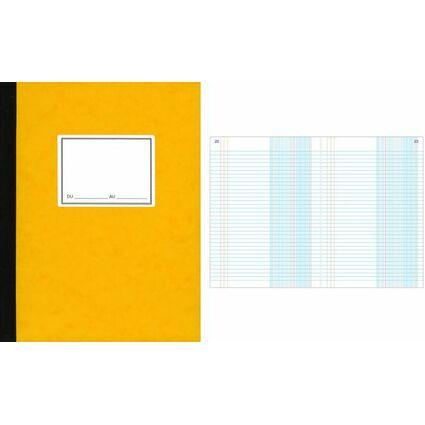 """ELVE Livre de compte """"journal"""" , 297 x 210 mm, 100 pages"""