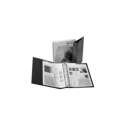 HETZEL Präsentations-Ringbuch Economic, A4, weiß, 4 Ring-