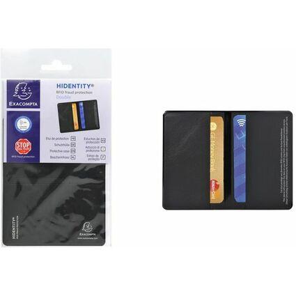 EXACOMPTA RFID-Schutzhülle Hidentity Duo, schwarz