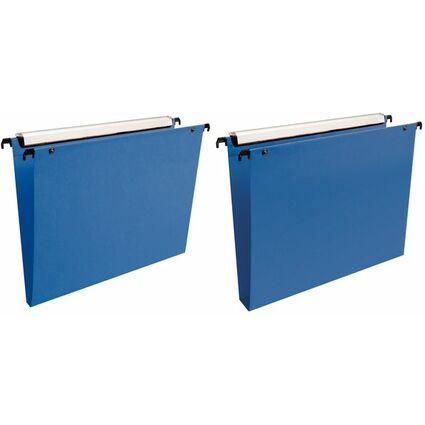 Esselte Dossiers suspendus VMG, PP, bleu, fond 30 mm