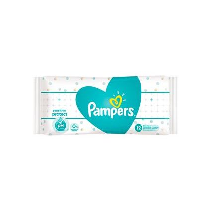 8001090599834 Pampers Feuchttücher Sensitive Travelpack