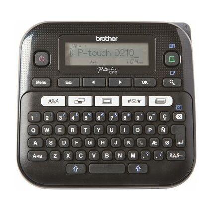 """brother Tisch-Beschriftungsgerät """"P-touch D210"""""""