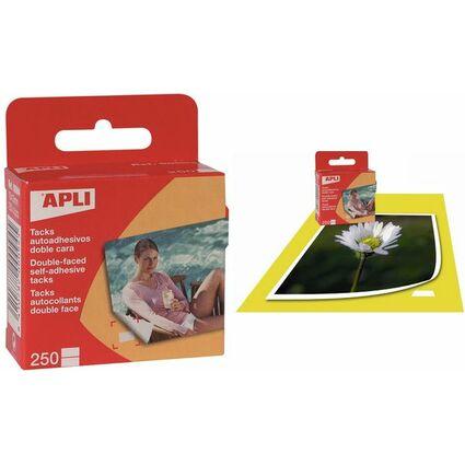 agipa Foto-Klebepunkte, doppelseitig klebend, 10 x 16 mm