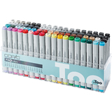 COPIC profi Marker, 72er set 2