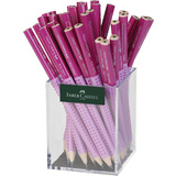 FABER-CASTELL bleistift Jumbo grip TWO TONE, rosa/pink