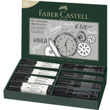 FABER-CASTELL tuschestift PITT artist pen, 68er Display