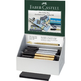 FABER-CASTELL tuschestift PITT artist pen, 40er Display