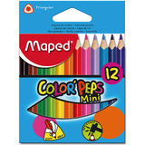 Maped dreikant-buntstift COLOR`PEPS Mini, 12er Kartonetui