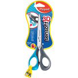 Maped schere Sensoft 3D, spitz, Länge: 160 mm, Linkshänder