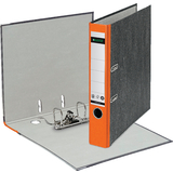 LEITZ Wolkenmarmor-Ordner, 180 Grad, din A4, 52 mm, orange